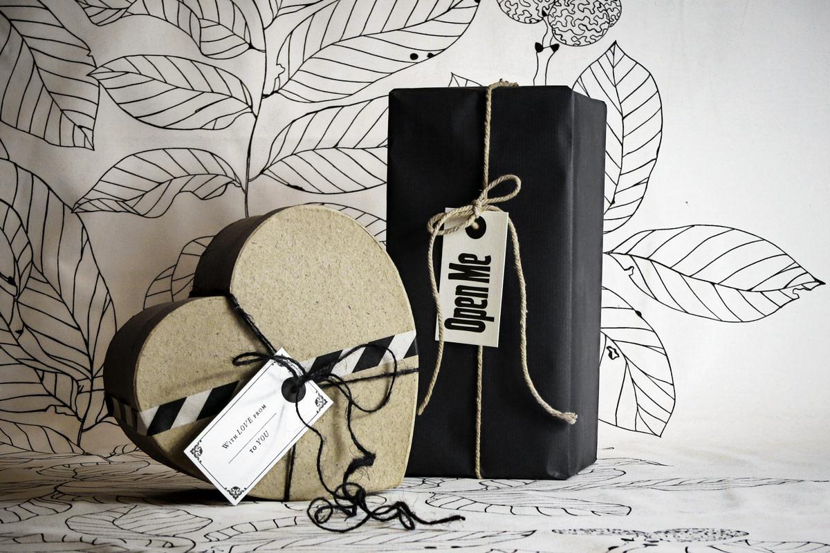 Große Geschenkverpackungsaktion
