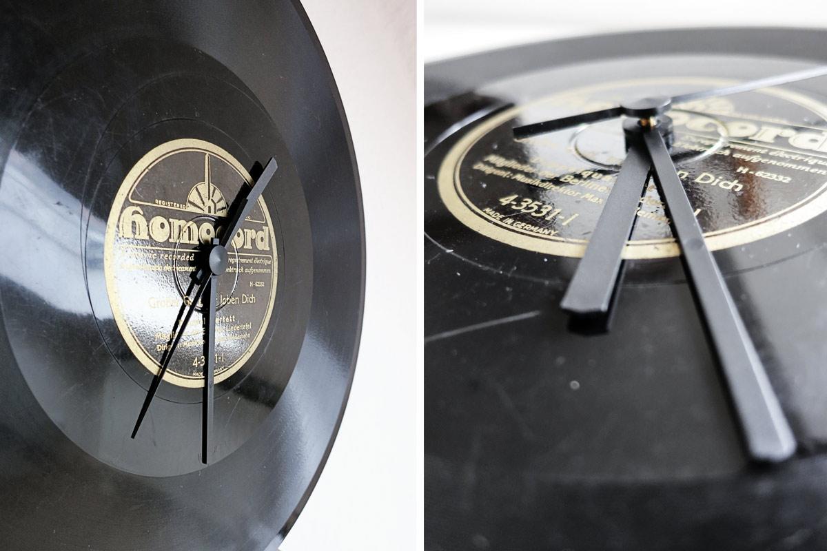 DIY | Uhr aus alten Schallplatten - mxliving