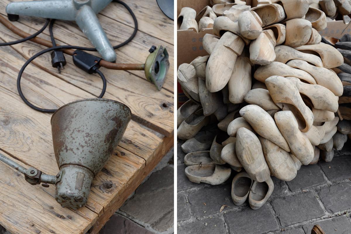 antikmarkt-tongeren-alte-lampen-klompen