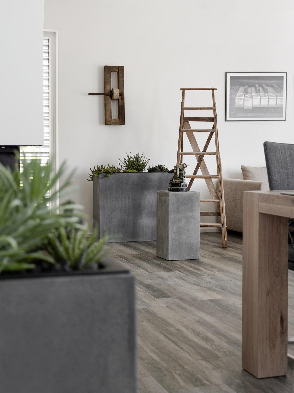 Podest-im-wohnzimmer-dekorieren
