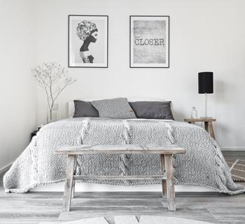 diy kuschelige decke mit dicken maschen selber stricken. Black Bedroom Furniture Sets. Home Design Ideas