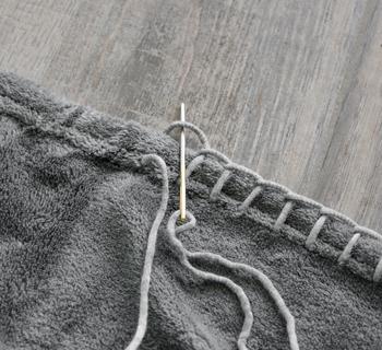 DIY | Fleeceplaid für kühle Sommerabende