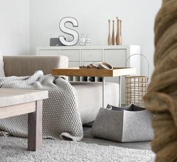 Dekoration | Wohnzimmerimpressionen im Spätherbst