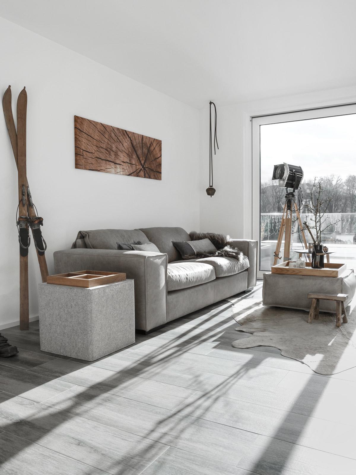 Wohnzimmer im Alpenlook