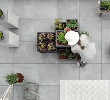 GARTEN   ein Gemüsegarten auf dem Balkon