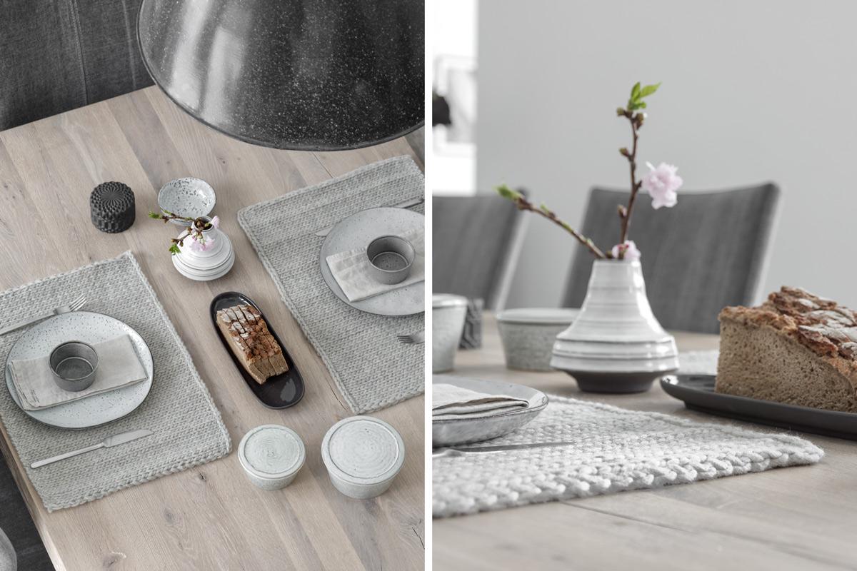 diy gestrickte tischsets selber machen mxliving. Black Bedroom Furniture Sets. Home Design Ideas