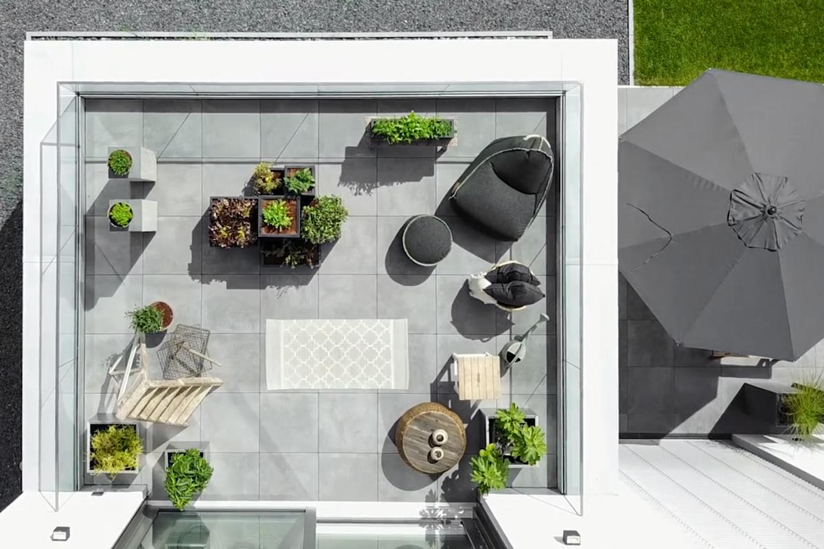 garten ein gem segarten auf dem balkon mxliving. Black Bedroom Furniture Sets. Home Design Ideas