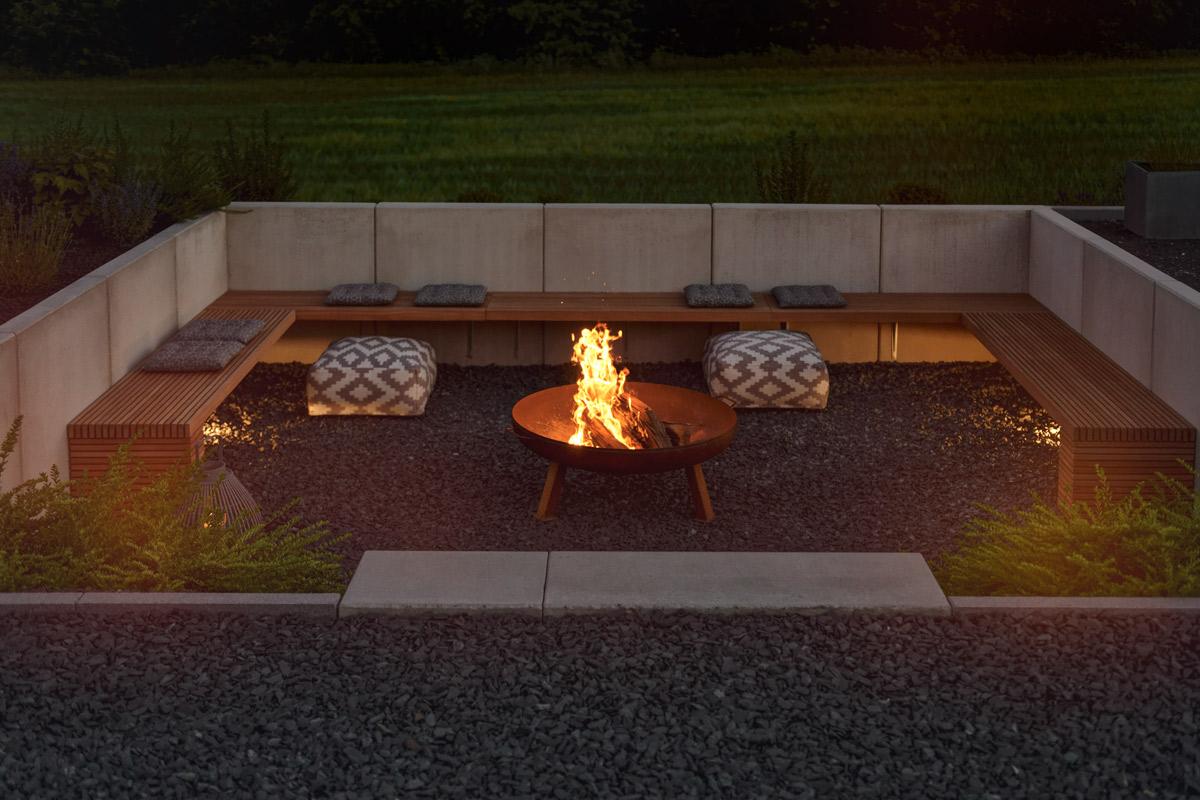 Super GARTEN | die neue Feuerstelle und Lichtkonzept im Garten - mxliving &JU_45