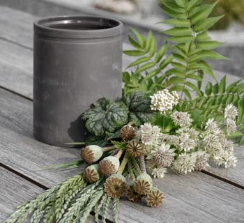 DEKORATION | aus dem Garten in die Vase