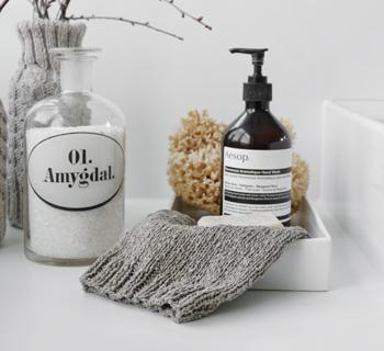 DIY | Waschhandschuh stricken