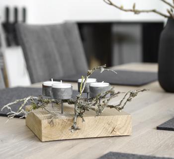 DIY | Adventskranz für Eilige